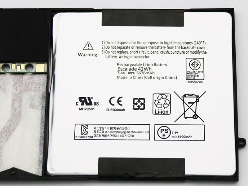 Microsoft Surface Pro 1 1514 /...対応バッテリー