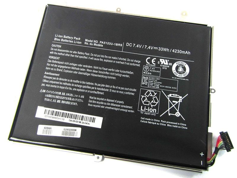TOSHIBA EXCITE Pro AT10LE-A-10...対応バッテリー