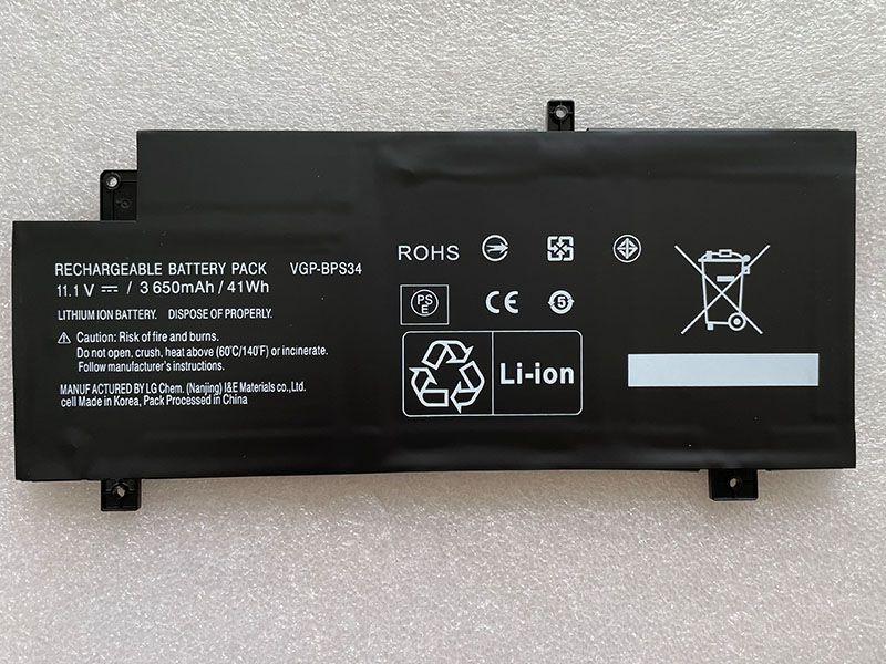SONY VGP-BPS34 3650mah対応バッテリー
